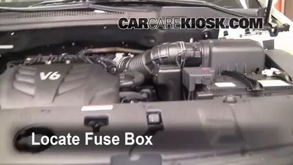 replace a fuse 2006 2014 kia sedona 2010 kia sedona lx  2008 kia sedona engine fuse box diagram #11