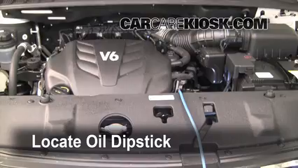 Oil & Filter Change Kia Sedona (2006-2014) - 2010 Kia Sedona LX 3.8L V6