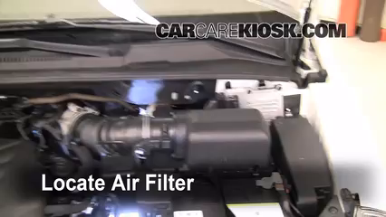 2010 Kia Sedona LX 3.8L V6 Air Filter (Engine)