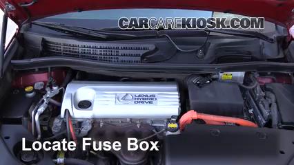 Blown Fuse Check 2010-2012 Lexus HS250h - 2010 Lexus HS250h Premium 2.4L 4  Cyl.CarCareKiosk