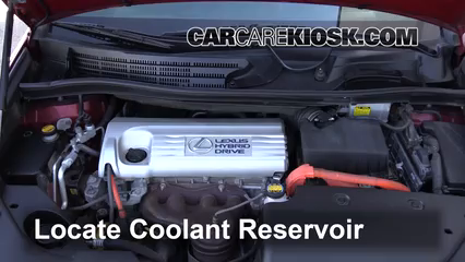 2010 Lexus HS250h Premium 2.4L 4 Cyl. Fluid Leaks Coolant (Antifreeze) (fix leaks)