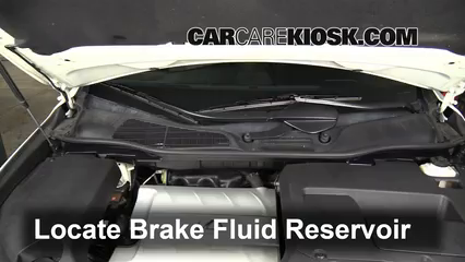 2010 Lexus RX350 3.5L V6 Brake Fluid