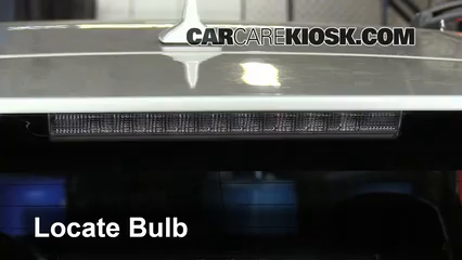 Third Brake Light Bulb Change Lexus Rx350 2010 2015