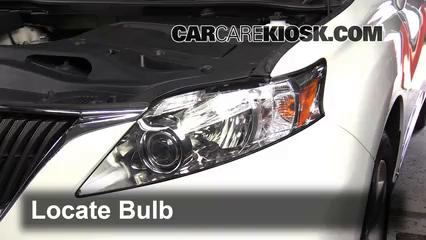 Headlight Change 2010-2015 Lexus RX350 - 2010 Lexus RX350 3.5L V6