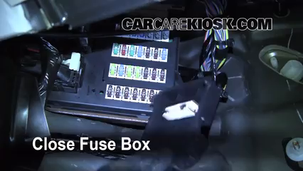 Interior Fuse Box Location: 2006-2012 Lincoln MKZ - 2010 Lincoln MKZ 3.5L V6CarCareKiosk
