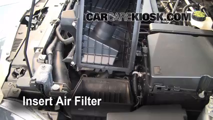 air filter how to 2008 2011 ford focus 2009 ford focus. Black Bedroom Furniture Sets. Home Design Ideas