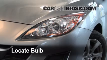 Headlight Change 2010 2013 Mazda 3