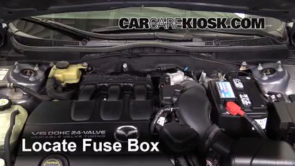 blown fuse check 2009 2013 mazda 6 2010 mazda 6 s 3 7l v6 rh carcarekiosk com 2004 Mazda 6 Fuse Box Diagram 2004 Mazda 6 Fuse Box Diagram