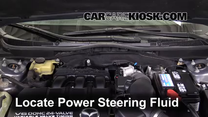 2010 Mazda 6 S 3.7L V6 Power Steering Fluid