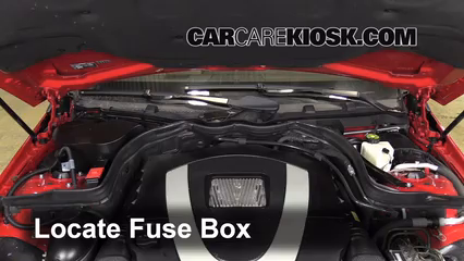 replace a fuse: 2010-2016 mercedes-benz e350