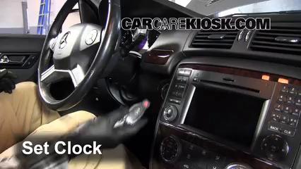 Mercedes Benz R Matic L V Fclock on Battery For Mercedes R350