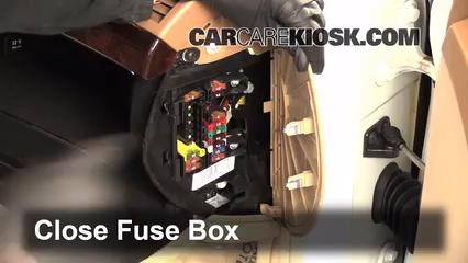 Interior Fuse Box Location: 2007-2013 Mercedes-Benz S400
