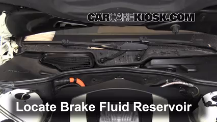 2010 Mercedes-Benz S400 Hybrid 3.5L V6 Brake Fluid