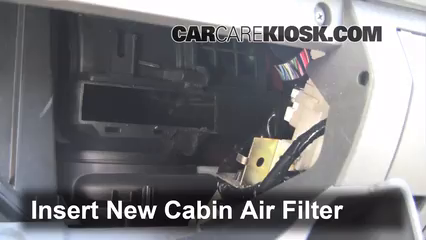 Cabin Filter Replacement: Nissan Pathfinder 2005-2019 ...
