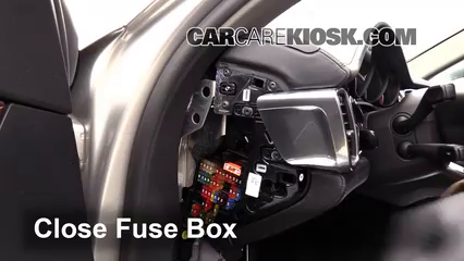 interior fuse box location 2010 2016 porsche panamera. Black Bedroom Furniture Sets. Home Design Ideas
