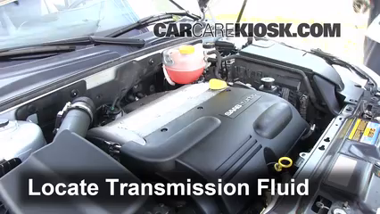2010 Saab 9-3 2.0T 2.0L 4 Cyl. Turbo Sedan Transmission Fluid