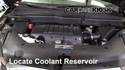 2010 Saturn Outlook XE 3.6L V6 Coolant (Antifreeze)