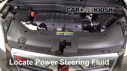 2010 Saturn Outlook XE 3.6L V6 Power Steering Fluid
