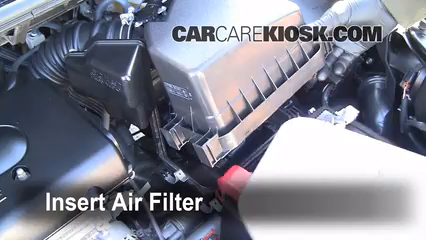 2008-2015 Scion xB Engine Air Filter Check - 2010 Scion xB ...