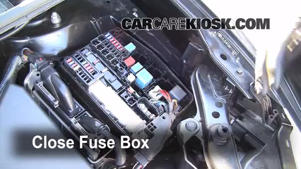 replace a fuse 2008 2015 scion xb 2010 scion xb 2 4l 4 cyl 2008 scion xb fuse diagram 6 replace cover secure the cover and test component