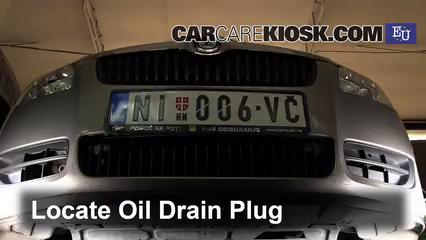 Oil & Filter Change Skoda Fabia (2007-2014) - 2010 Skoda