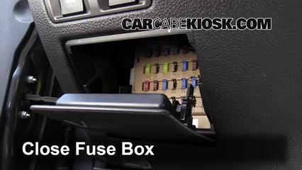 Interior Fuse Box Location: 2010-2014 Subaru Legacy - 2010 Subaru Legacy  3.6R Limited 3.6L 6 Cyl.CarCareKiosk