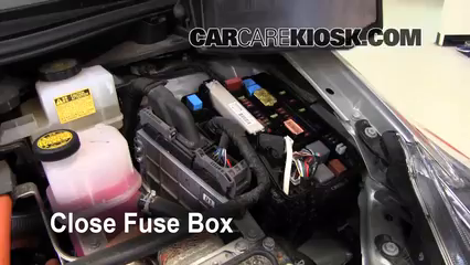 2010 Toyota Prius 1.8L 4 Cyl.%2FFuse Engine Part 2 replace a fuse 2010 2015 toyota prius 2010 toyota prius 1 8l 4 cyl access to 2010 prius fuse box at cita.asia