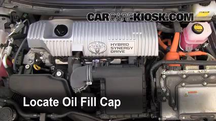2010 prius engine oil type