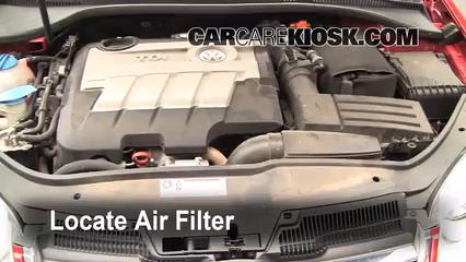 2013 passat engine air filter
