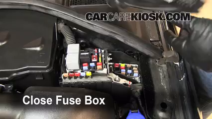 Replace a Fuse  20072016    Volvo       S80     2010    Volvo       S80    T6 30L 6 Cyl Turbo