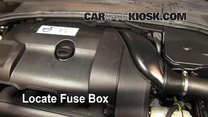 interior fuse box location: 2007-2016 volvo s80 - 2010 ... volvo xc60 t6 fuse box