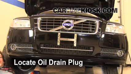 2010 volvo s80 t6 3 0l 6 cyl  turbo oil change oil and oil filter