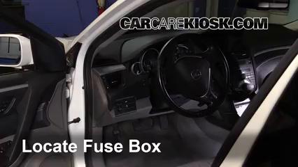 2010 Acura ZDX 3.7L V6 Fusible (intérieur) Contrôle