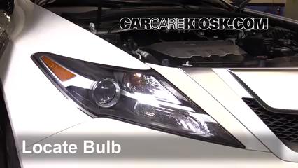 2010 Acura ZDX 3.7L V6 Éclairage Feu de jour (remplacer l'ampoule)