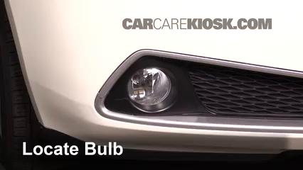 2010 Acura ZDX 3.7L V6 Éclairage Feu antibrouillard (remplacer l'ampoule)