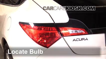 2010 Acura ZDX 3.7L V6 Éclairage Feux de position arrière (remplacer ampoule)
