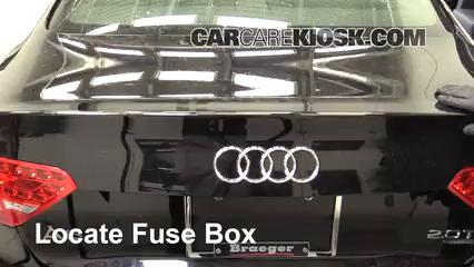 2010 Audi A5 Quattro 2.0L 4 Cyl. Turbo Fusible (moteur) Contrôle