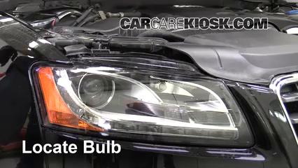 2010 Audi A5 Quattro 2.0L 4 Cyl. Turbo Éclairage Feu de jour (remplacer l'ampoule)