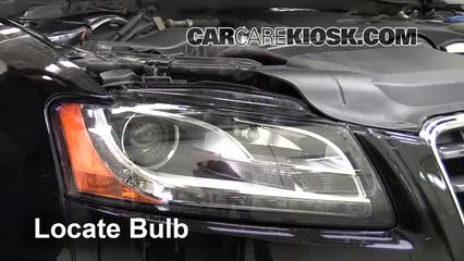 2010 Audi A5 Quattro 2.0L 4 Cyl. Turbo Éclairage Feu clignotant avant (remplacer l'ampoule)