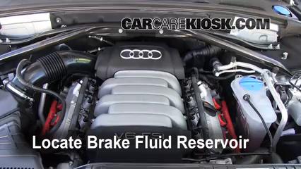 2010 Audi Q5 Premium 3.2L V6 Liquide de frein