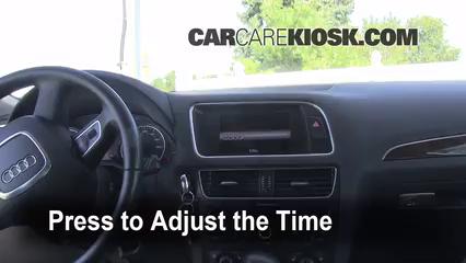 2010 Audi Q5 Premium 3.2L V6 Horloge