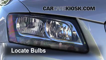 2010 Audi Q5 Premium 3.2L V6 Luces Luz de estacionamiento (reemplazar foco)