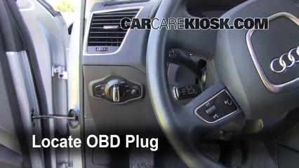 2010 Audi Q5 Premium 3.2L V6 Compruebe la luz del motor Diagnosticar