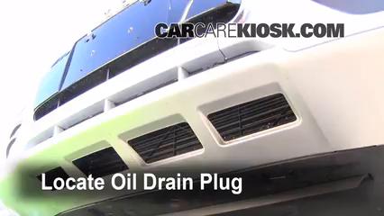2010 Audi Q5 Premium 3.2L V6 Aceite Cambiar aceite y filtro de aceite