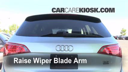 2010 Audi Q5 Premium 3.2L V6 Balais essuie-glace arrière