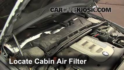 2010 BMW 335d 3.0L 6 Cyl. Turbo Diesel Filtre à air (intérieur) Changement