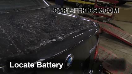 2010 BMW 528i 3.0L 6 Cyl. Battery