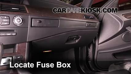 2010 BMW 528i 3.0L 6 Cyl. Fusible (intérieur)