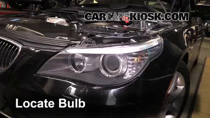 2010 BMW 528i 3.0L 6 Cyl. Luces Luz de giro delantera (reemplazar foco)
