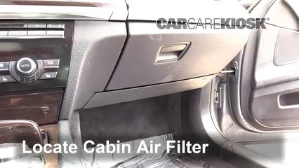 2010 BMW 750Li 4.4L V8 Turbo Air Filter (Cabin)
